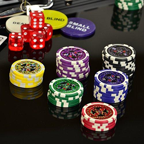 Nexos Pokerkoffer 1000 Chips Laser Poke...