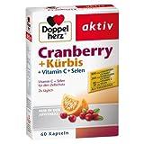 Doppelherz Cranberry + Kürbis Kapseln 60 stk