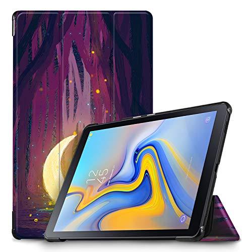 IVSO Hülle für Samsung Galaxy Tab A 10.5 SM-T590/T595, Slim Schutzhülle mit Auto Aufwachen/Schlaf Funktion Ideal Geeignet für Samsung Galaxy Tab A SM-T590/SM-T595 10.5 Zoll 2018, Amethyst