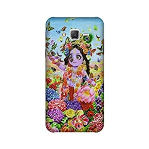Yashas High Quality Designer Printed Case & Cover for Samsung Galaxy J5 (2015 Model) (Krishna)