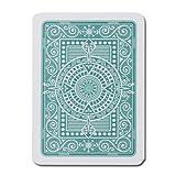 Modiano Plastique Texas Poker Jumbo Jeu de cartes Vert foncé