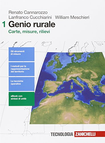 Genio Rurale Per Le Scuole Superiori Con E Book Con Espansione Online 1