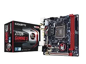 Gigabyte GA-Z170N-Gaming 5 Scheda madre (LGA 1151, Intel Z170, HDMI SATA 6Gb/s, USB 3.1/USB 3.0, Mini ITX)