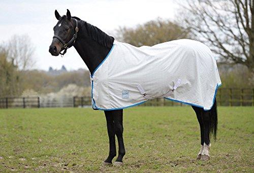 Kool Coat Lite Standard Neck Sheet 6ft9 White Blue -