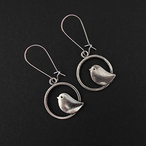 bird-earrings-on-mid-length-24mm-earwires-in-silver-tone-includes-gift-box