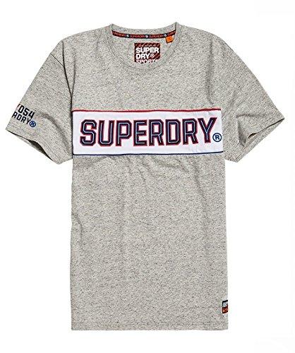 Superdry Men's Retrostripeboxfittee T-Shirt
