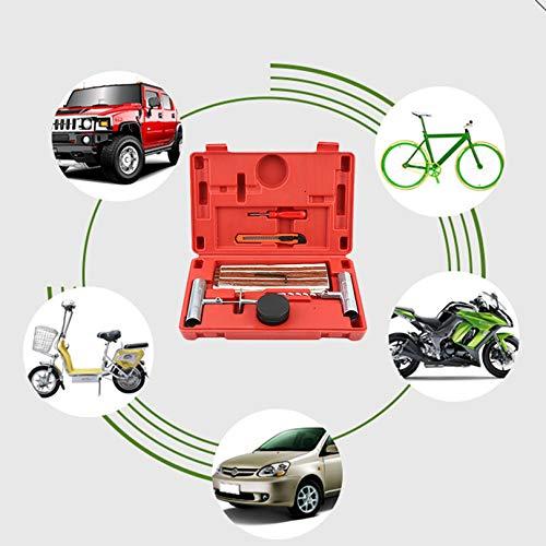 Kit di strumenti di riparazione di puntura di pneumatici per pneumatici di alta qualità per auto 27 pezzi