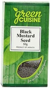 Green Cuisine Mustard Seed Black 50 g (Pack of 6)