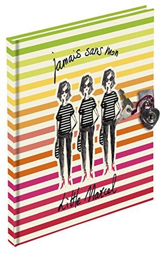 Exacompta 78224E Little Marcel Journal Intime avec Cadenas 180 Pages Lignées 17 X 11 cm Modèle aléatoire