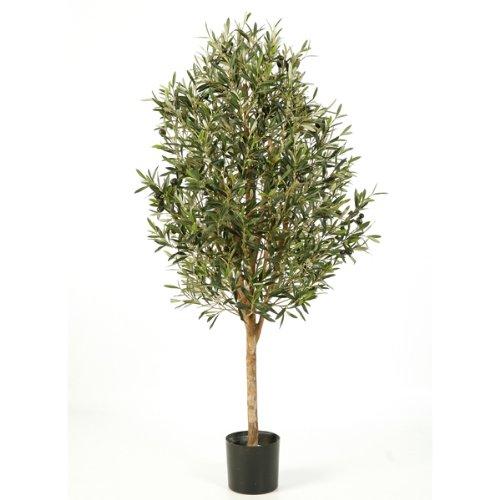 artplants – Deko Olivenbaum PLATON, mit 4576 Blättern, 170 cm – künstlicher Baum/Olivenbaum künstlich