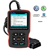 Creator C503 OBD2 Scanner Diagnostic Code Reader Compatible with VW Volkswagen Audi Skoda