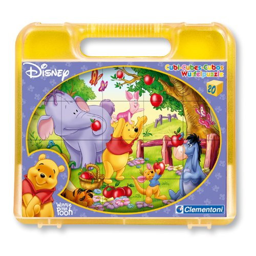 Cubos 20 Piezas Disney Winnie