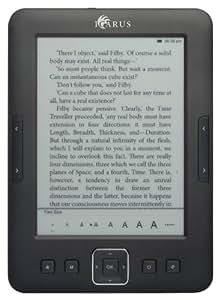 ICARUS e-ink Pearl Ebook Reader Pocket E601