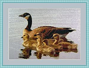 Mother Goose Counted Cross Stitch Kit By Orcraphics by Orcraphics Cross Stitch
