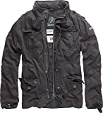 Brandit Herren Jacke Britannia, (Schwarz 2), X-Large