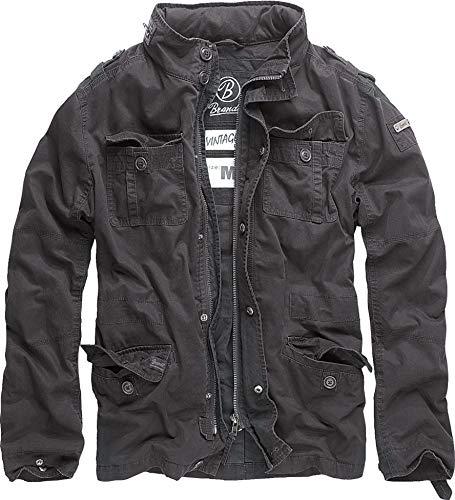 Brandit Britannia Jacke Schwarz XL