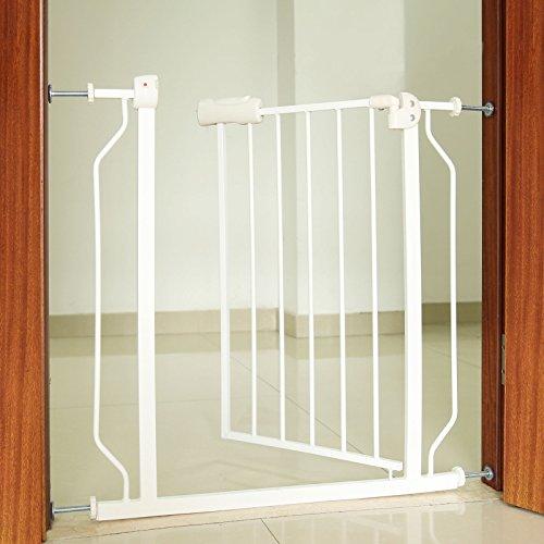 Rejilla de protección de la puerta A 74cm x A 80cm ampliable A 86cm Rejilla de protección de la escalera