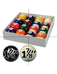 """Spots and Stripes - Set de bolas de billar (7/8"""")"""