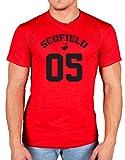 Ulterior Clothing Scofield 05 T-Shirt Prison Break Burrows