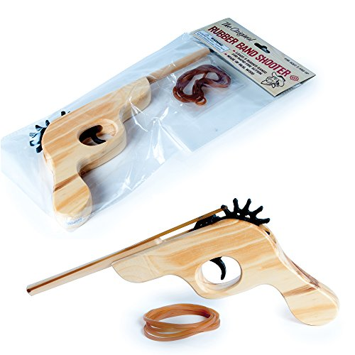 Funtime Gifts Original Rubber Band Shooter