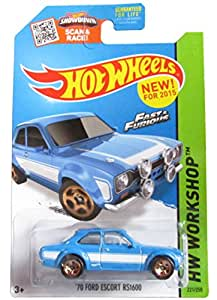 2015 Hot Wheels Fast and Furious 70 Ford Escort Rs1600 221/250