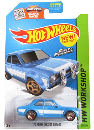 2015 Hot Wheels Fast and Furious 70 Ford Escort Rs1600 221/250 by Hot Wheels