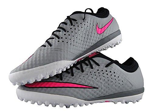 Chaussure de Foot à 5 MercurialX Finale TF Nike - WOLF GREY/HYPER PINK