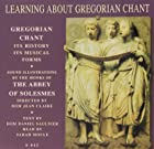 Learning about gregorian chant © Amazon