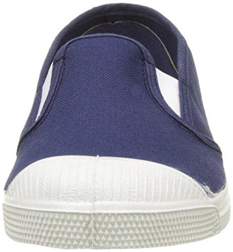 Bensimon Tennis Tommy Bicolor, Baskets Basses Femme Bleu (Bleu)