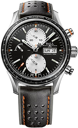 Ball Fireman Storm Chaser Pro Watch, Stainless steel, Cronograph, Black