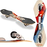 Streetsurfing Street Surfing Wooden Waveboard Wave Rider-Abstract, 500079, M