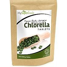 Bio Chlorella-Tabletten (300 x 500mg) | Höchste Qualität | Von MySuperfoods