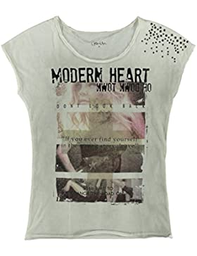 Geisha Girl T-Shirt Modern Heart Singlet