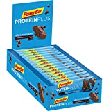 Powerbar - Proteinplus Low Sugar 35 gr Choco 30 Units, color chocolate