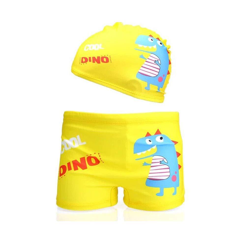 51lXliRMSsL - Lazzon Bañador Niños Boxer de Natación Traje de Baño Bebe