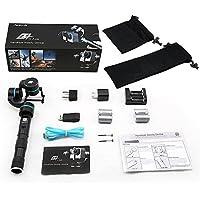 Neewer® Feiyu G4 3-Axis Handheld Steady Gimbal PTZ Cámara Mount Kit para Gopro 4/3 + 3 y otros deportes cámaras de tamaño Similar, incluye bolsas de microfibra suave no raye