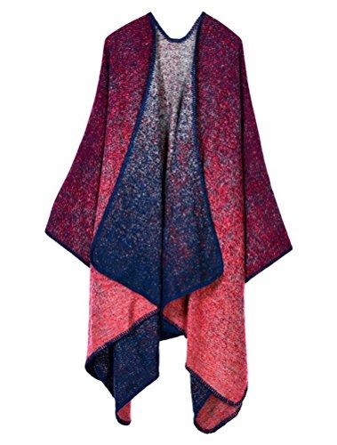 MatchLife Femme Automne longue écharpe Wrap Shawl Art15