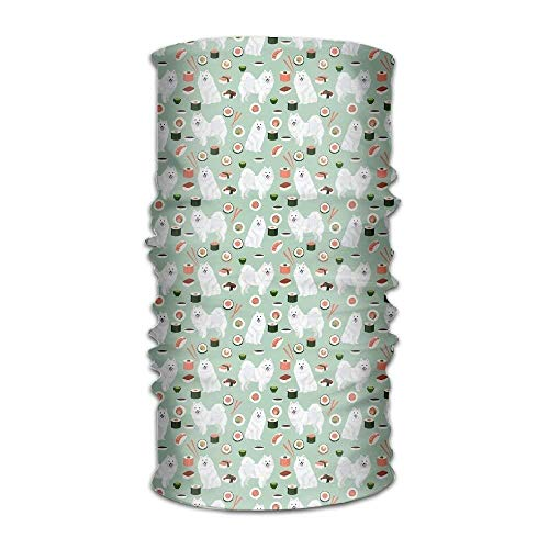 Balaclavas happy pup sushi ramen versatile outdoors daily stylish headwear multifunctional sport headband sweatband,magic scarf,head wrap,neck gaiter,bandana,helmet liner, balaclava,tube mask fashion8