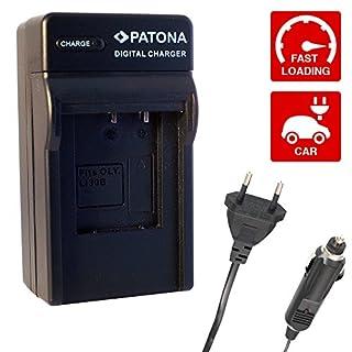 PATONA 4055655040211BLB13DMW–3EN1Comp. Ladegerät DMW-BLB13E für Panasonic Lumix DMC-G1DMC-G10DMC-GF1DMC-GH1