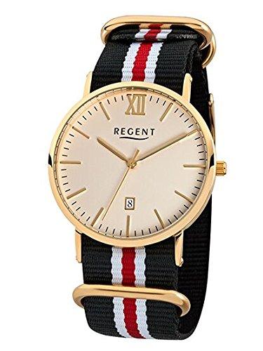 R26 - reloj de hombre con correa de tela colour Regent BA-263