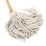 Best UNISAN Mops - UNISAN Deck Mop with 54 Wooden Handle, 20-Ounce Review
