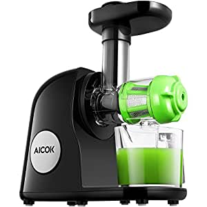 Aicok Slow Masticating Juice Extractor With Reverse Function : Aicok Slow Masticating Juicer Extractor, Reverse Function ...