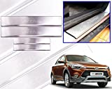 #2: Premium Quality Car Door Stainless Steel Scuff Plate Foot Steps For-Hundai I-20 Active
