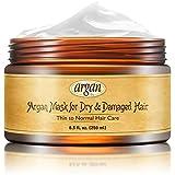 Vitamins Haarkur Deep Conditioner Haarmaske für Dünnes bis Normales Haar - Marokkanische Arganöl Maske für trockenes & kaputtes Haar