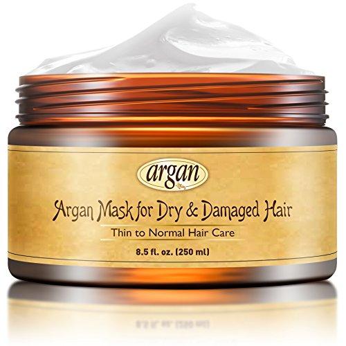 Intensive Hair-repair-therapie (Vitamins Haarkur Deep Conditioner Haarmaske für Dünnes bis Normales Haar - Marokkanische Arganöl Maske für trockenes & kaputtes Haar)