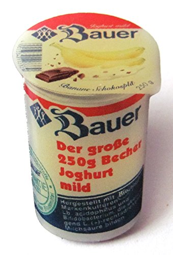 Erwachsene Bauer Für Kostüme (Bauer - Bananen Schokosplit - Pin 30 x 20)