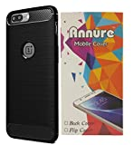 One Plus 5 Back cover case - Annure Authentic Rugged Carbon Fibre Case for OnePlus 5 by Annure [Black]