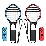 DEESEE(TM) 1 Paar Tennisschläger mit Griff für Nintendo Switch Jpy-con