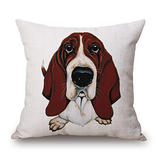 tbs-cute-animale-cane-cucciolo-colorati-idea-regalo-cuscino-copre-tessuto-basset-hound-1-45-x-45-cm