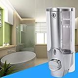 #10: Kitsch(™) KIWI Matt Chrome Plated Heavy Duty ABS Plastic Body 350 ml Key Lockable Liquid Soap Dispenser